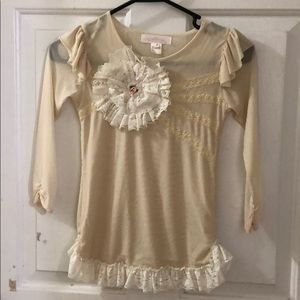 Dollcake Oh So Girly Size 6 Tunic